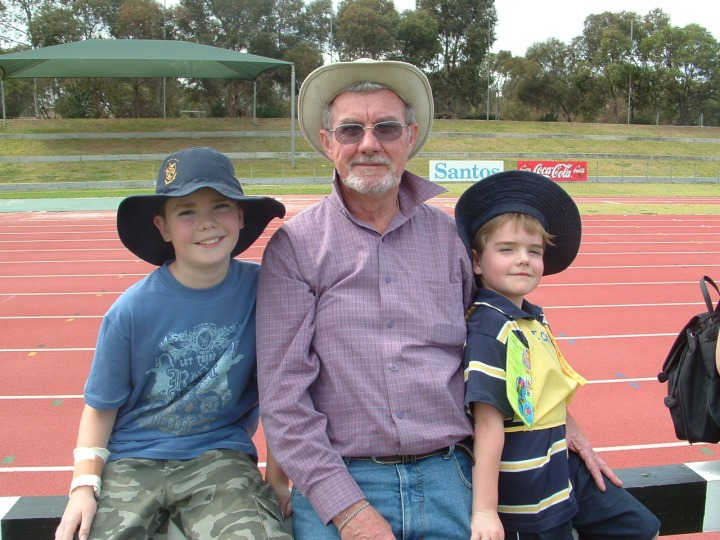 Sports Day Photo Dad